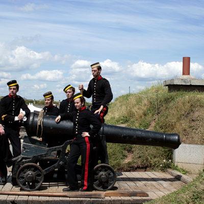 Halifax Citadel Cannon Crew
