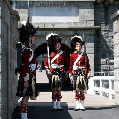 Halifax Citadel Change of the Guard