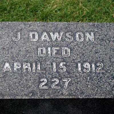 Grave Jack Dawson